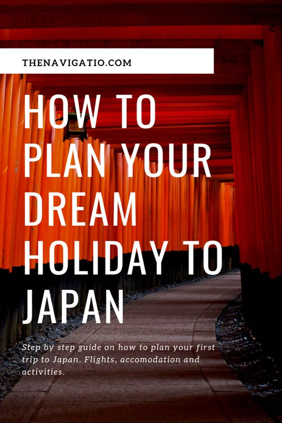 how to plan first trip to japan