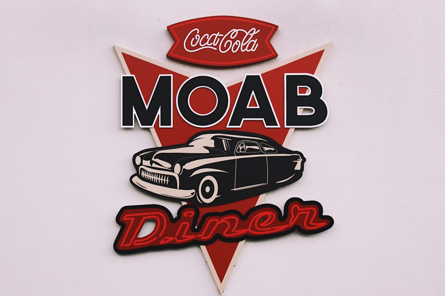 Moab Diner USA Road Trip