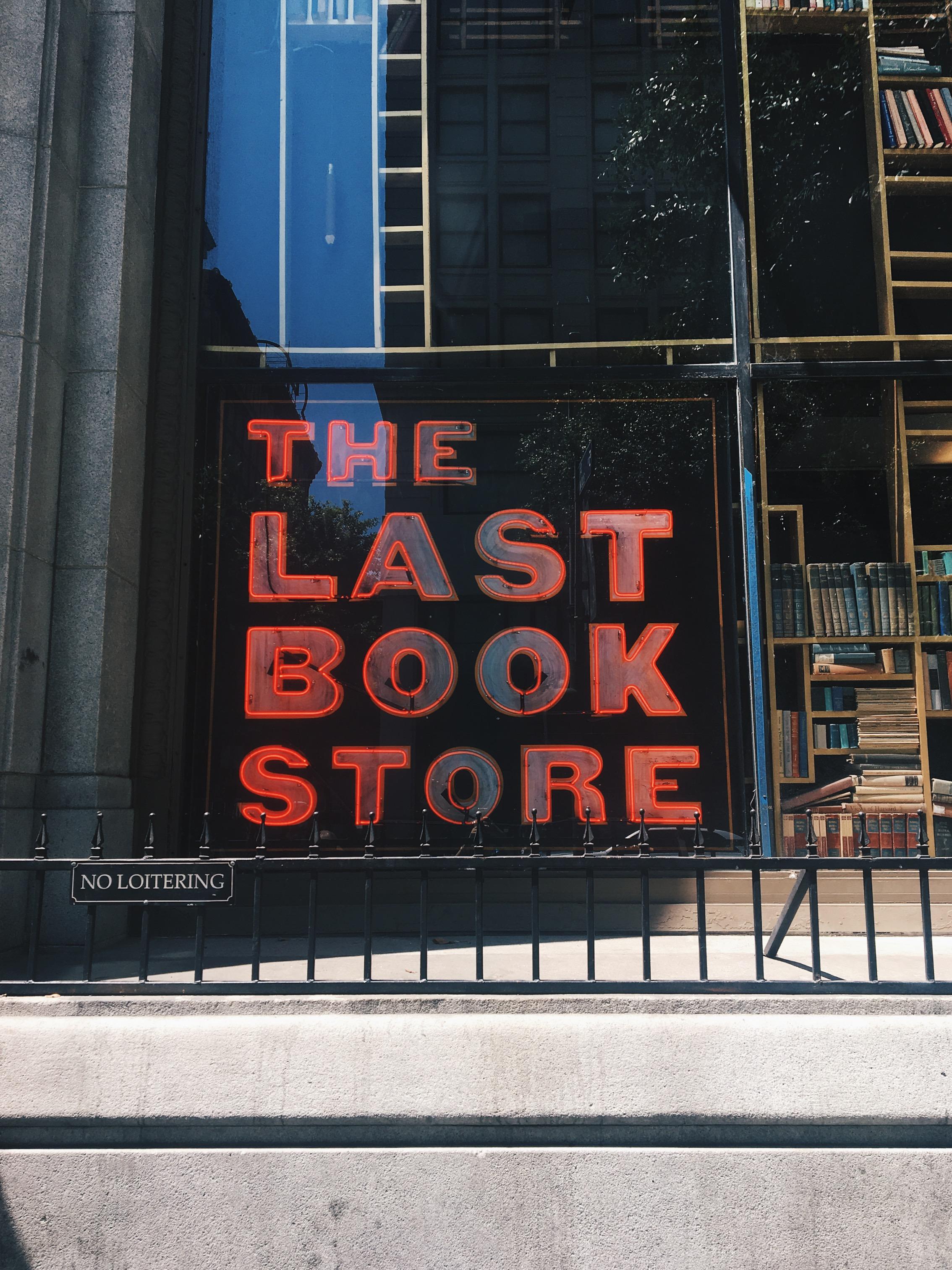 the last bookstore la