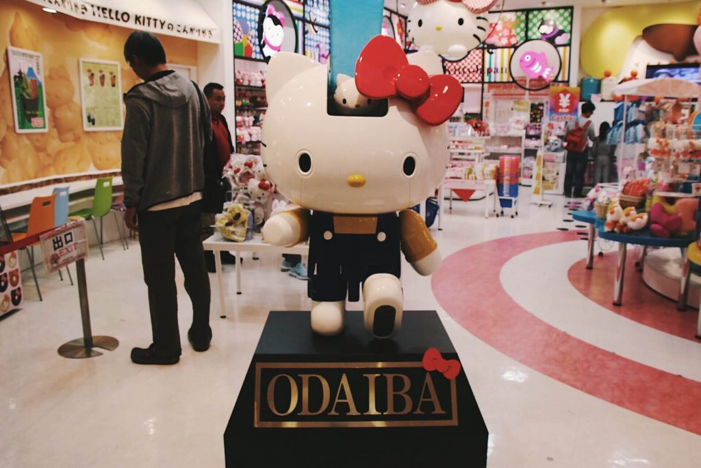 hello kitty shop, what to do in tokyo