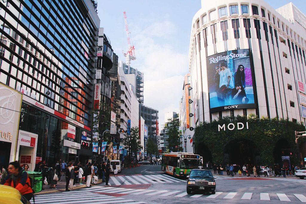 Modi shibuya tokyo