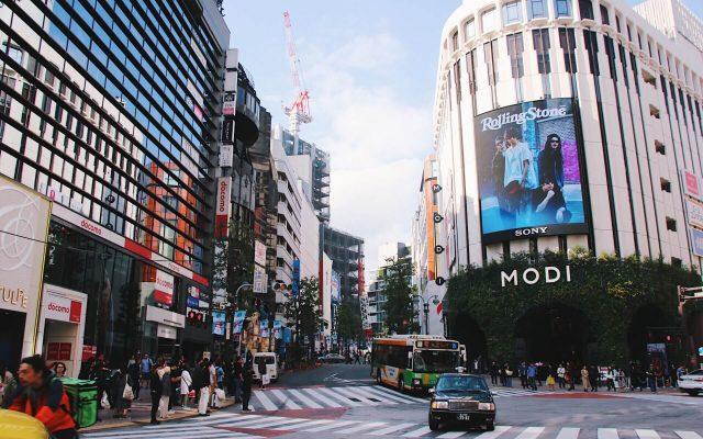 shopping in shibuya tokyo