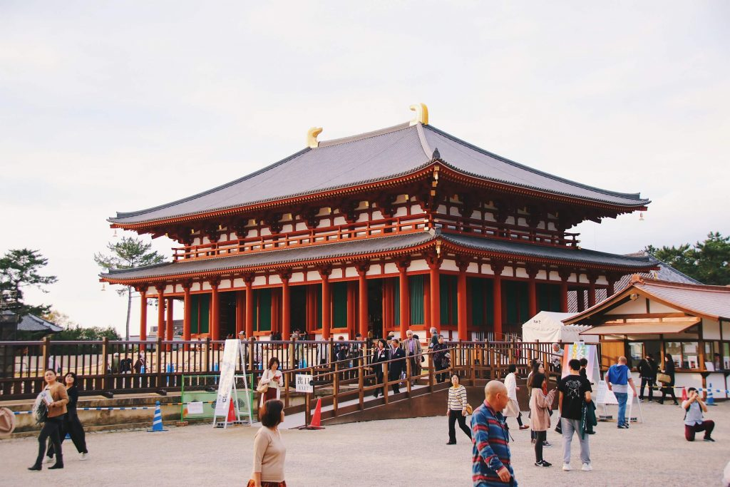 kofukuji temple, central golden hall