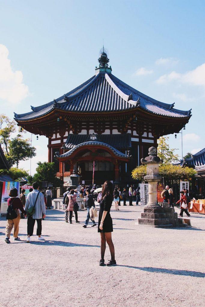 best things to do in nara, nara day trip from osaka, kohfukuji temple