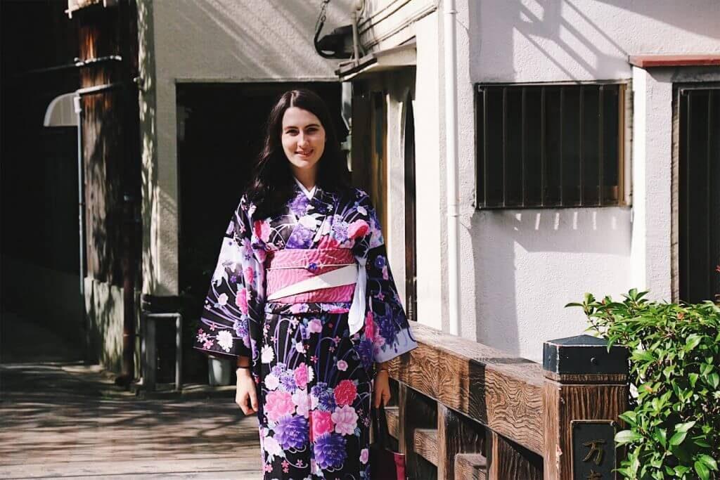 hire a kimono in kyoto