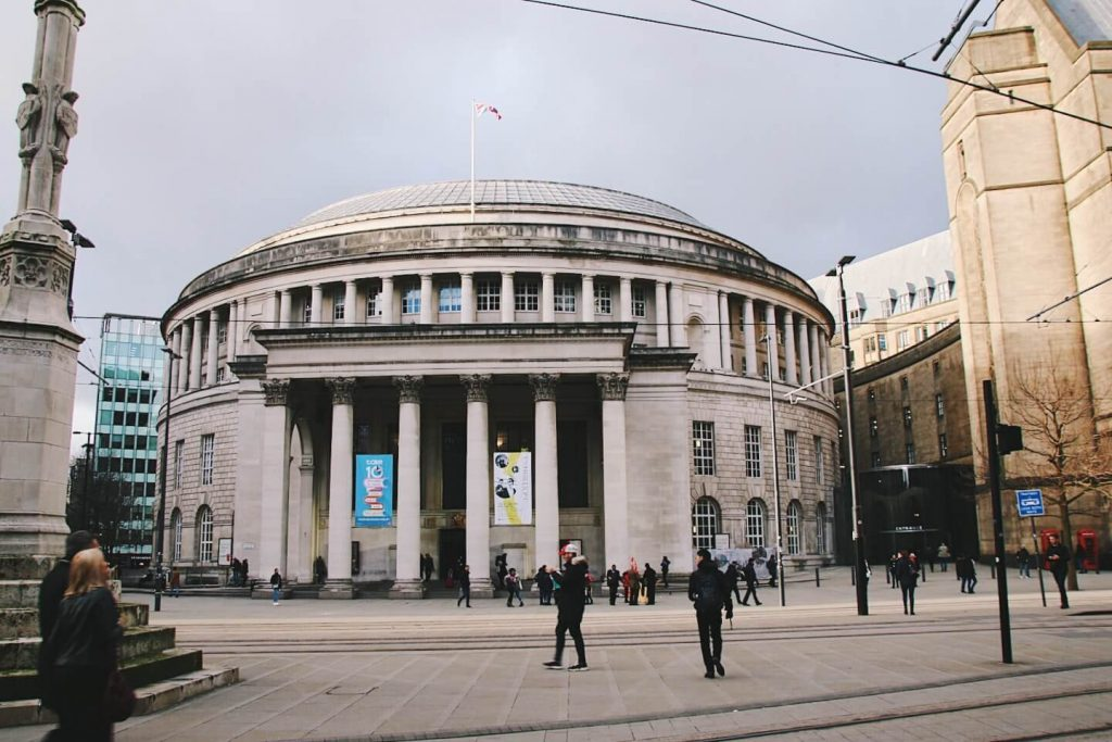 Manchester Travel Tips, Manchester Central Library