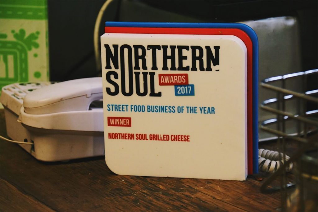 Manchester Northern Soul Grilled Cheese