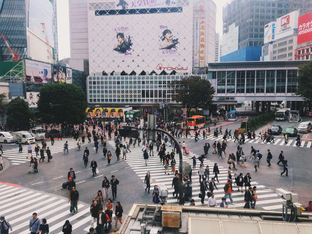 Tokyo Shibuya Crossing Japan