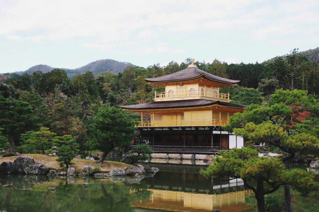 kinkakuji golden palace kyoto