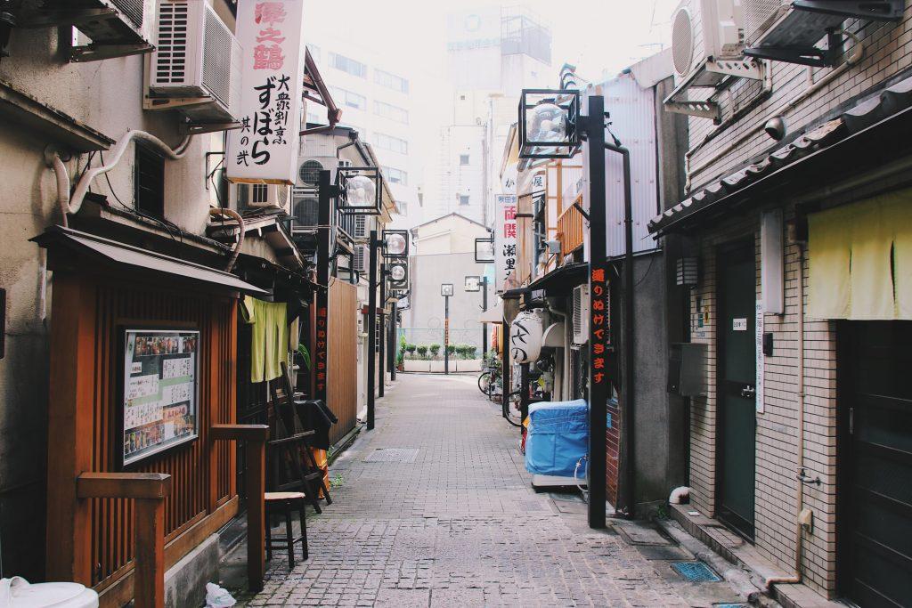 street in tokyo japan, itinerary plan