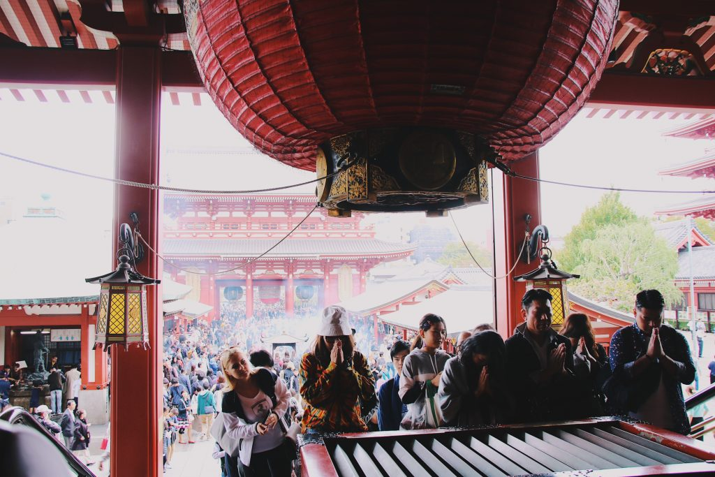 sensoji temple tokyo two week japan itinerary