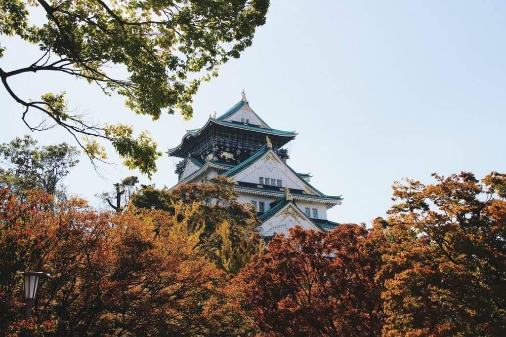 Osaka Castle, Osaka itinerary