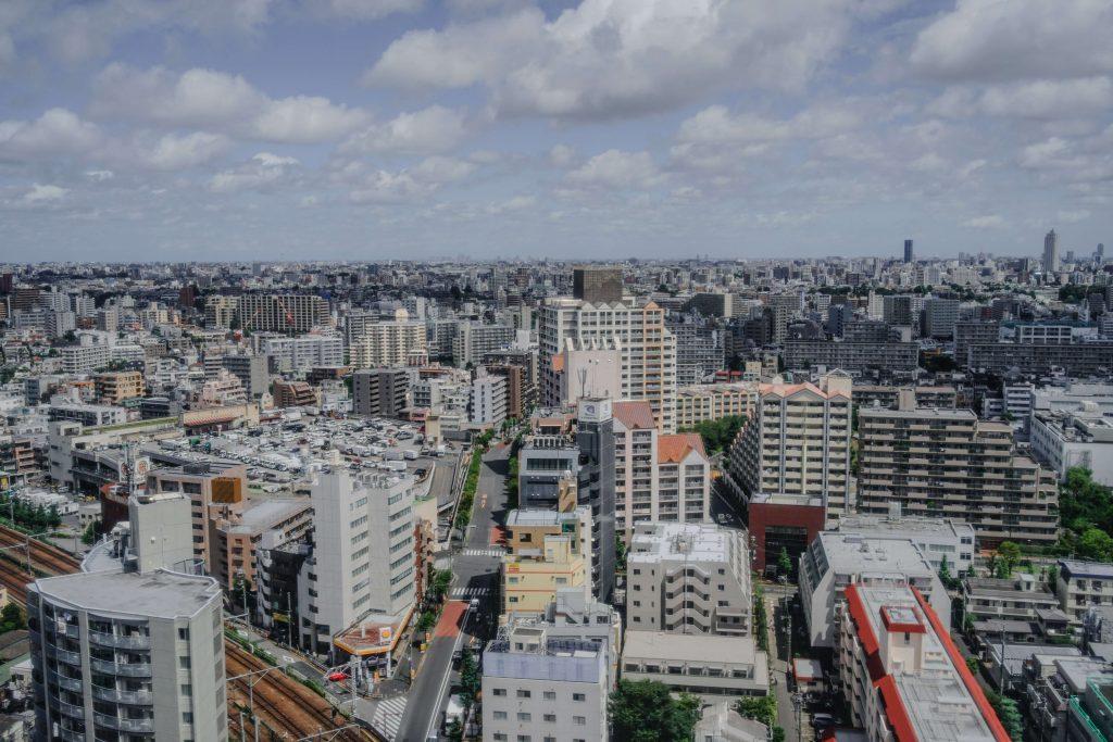 View over Shinjuku