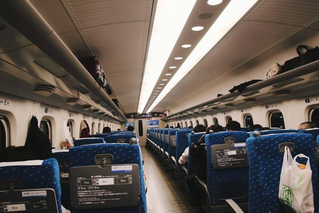 Shinkansen Tokyo to Kyoto