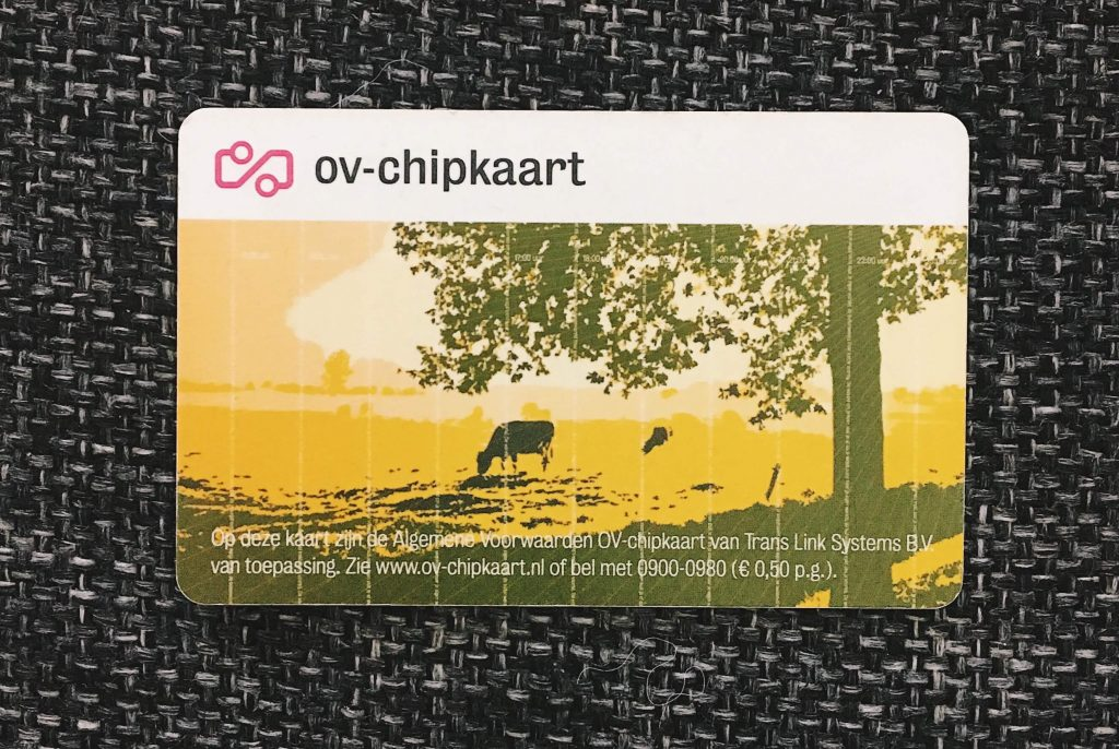 OV card in the Netherlands for public transport
