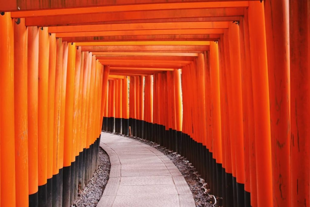 fushimi inari senbon torii gates