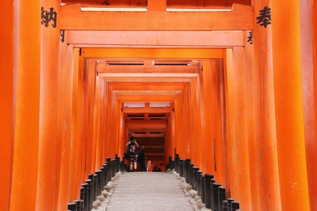 thousand gate shrine kyoto