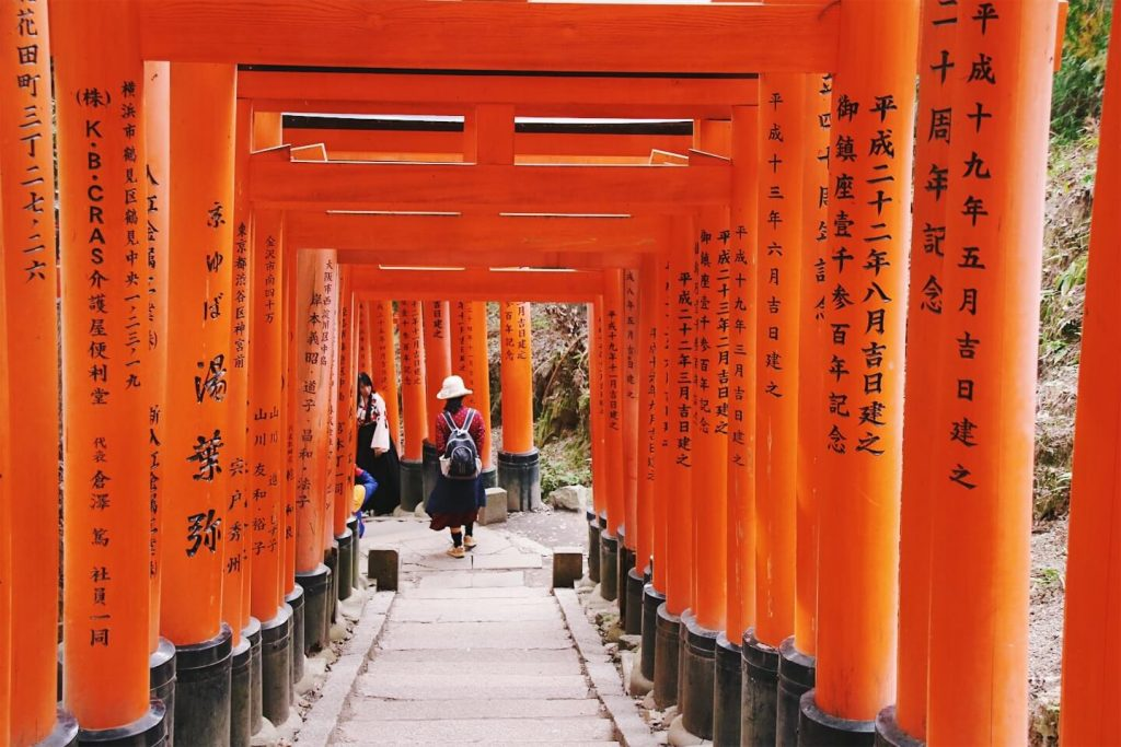Fushimi Inari Taisha, 2 days in Kyoto