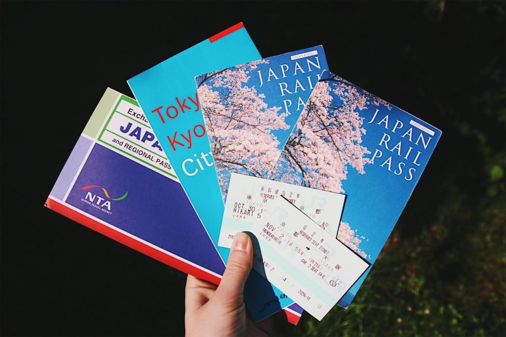 japan railpass, pasmo icoca suica card
