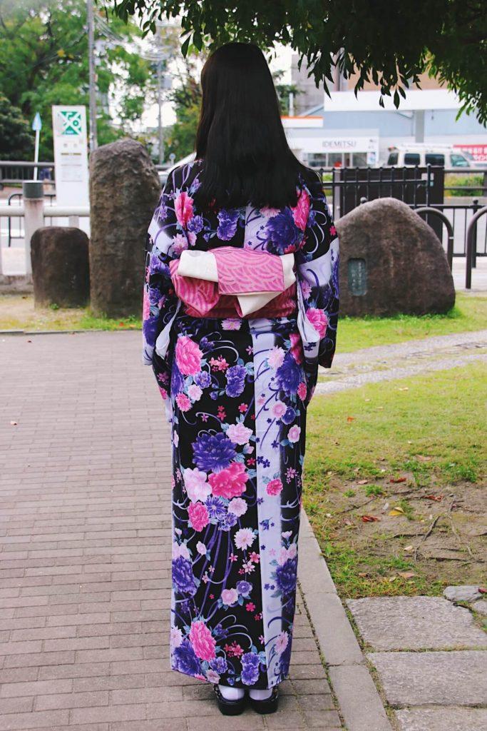renting kimono in japan