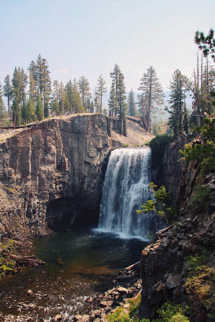 rainbow falls mammoth lakes