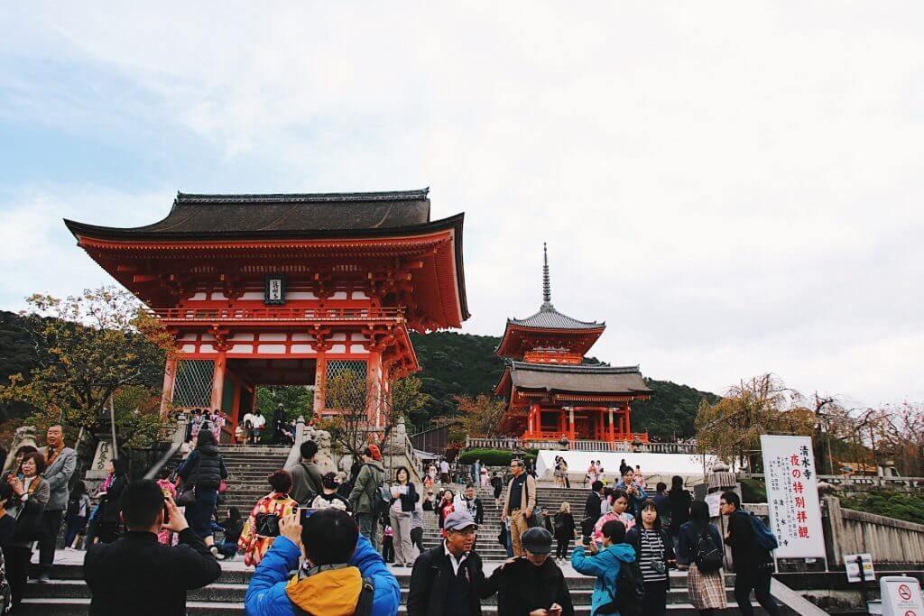 Kiyomizu-Dera, koyasu pagoda kyoto