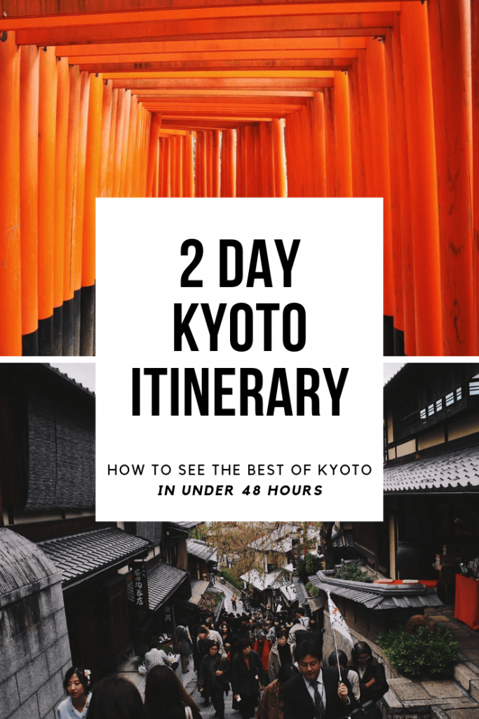 two days in kyoto