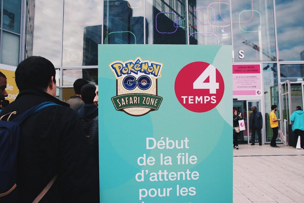 Pokemon Go Paris