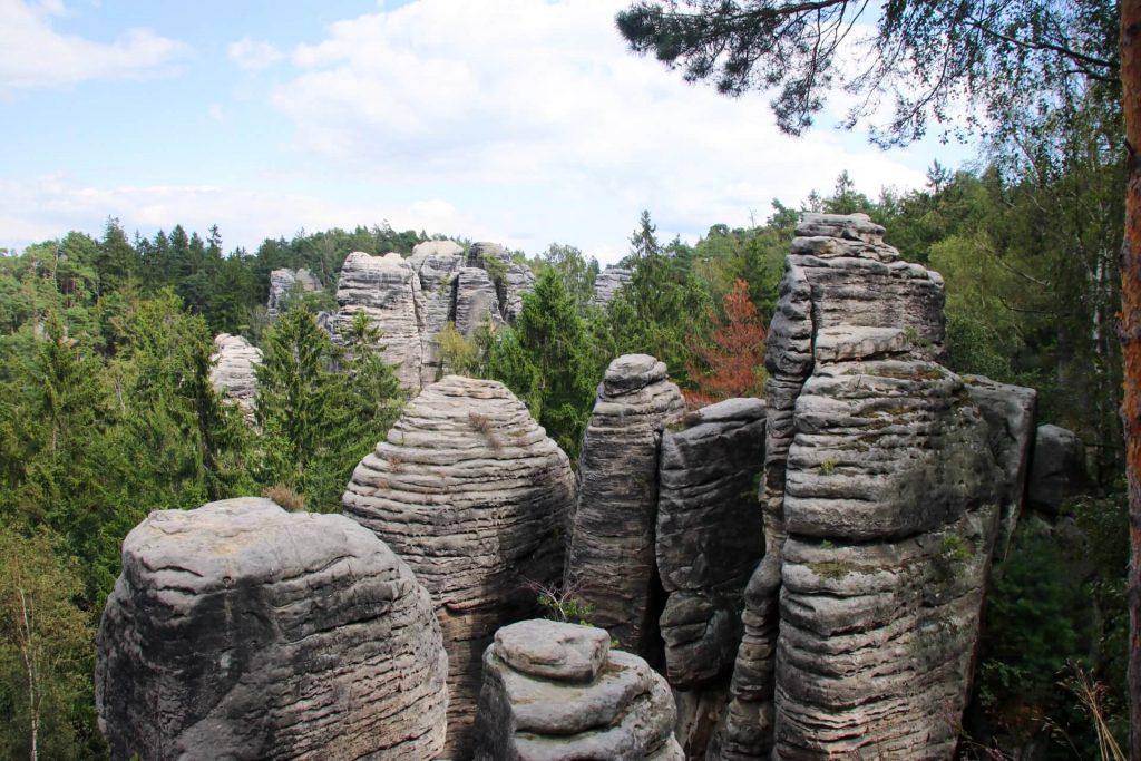 Prachov Rocks cesky raj