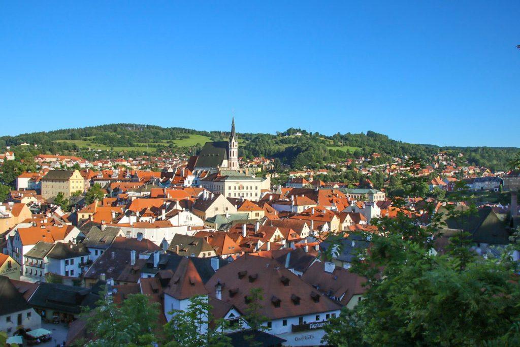 Cesky Krumlov, day trip from Prague