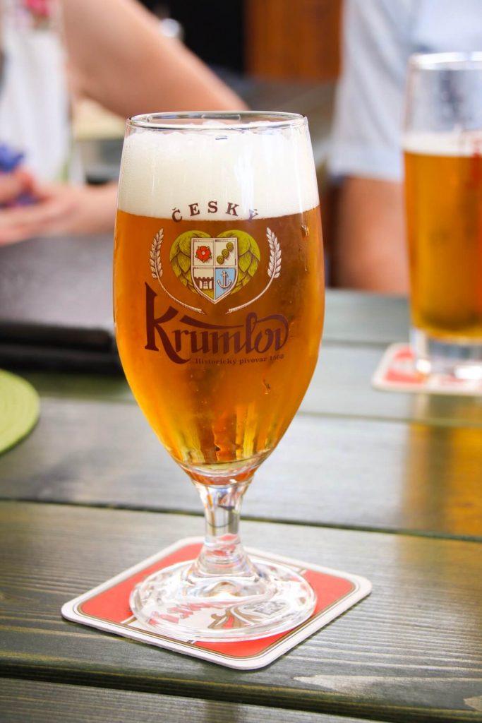 beer in cesky krumlov