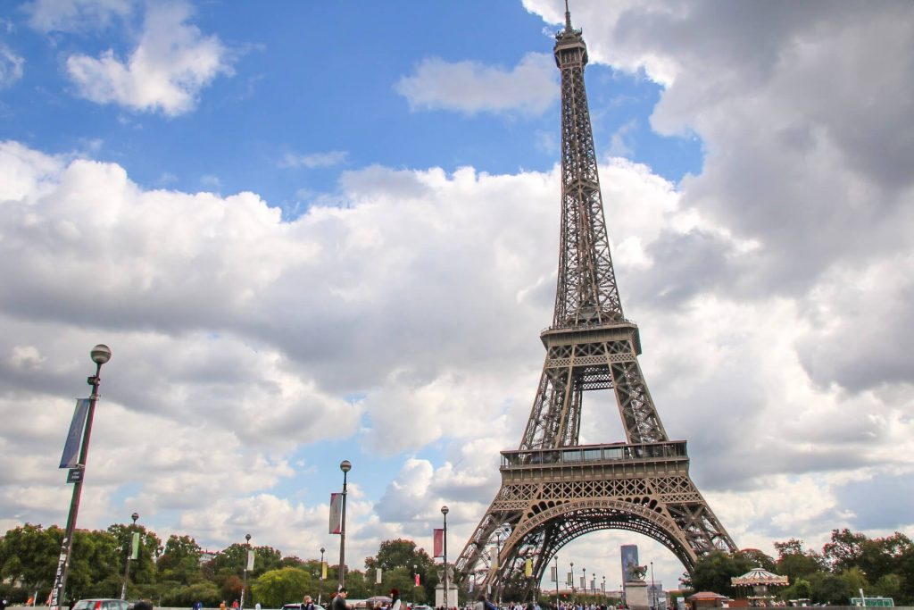 eiffel tower paris itinerary