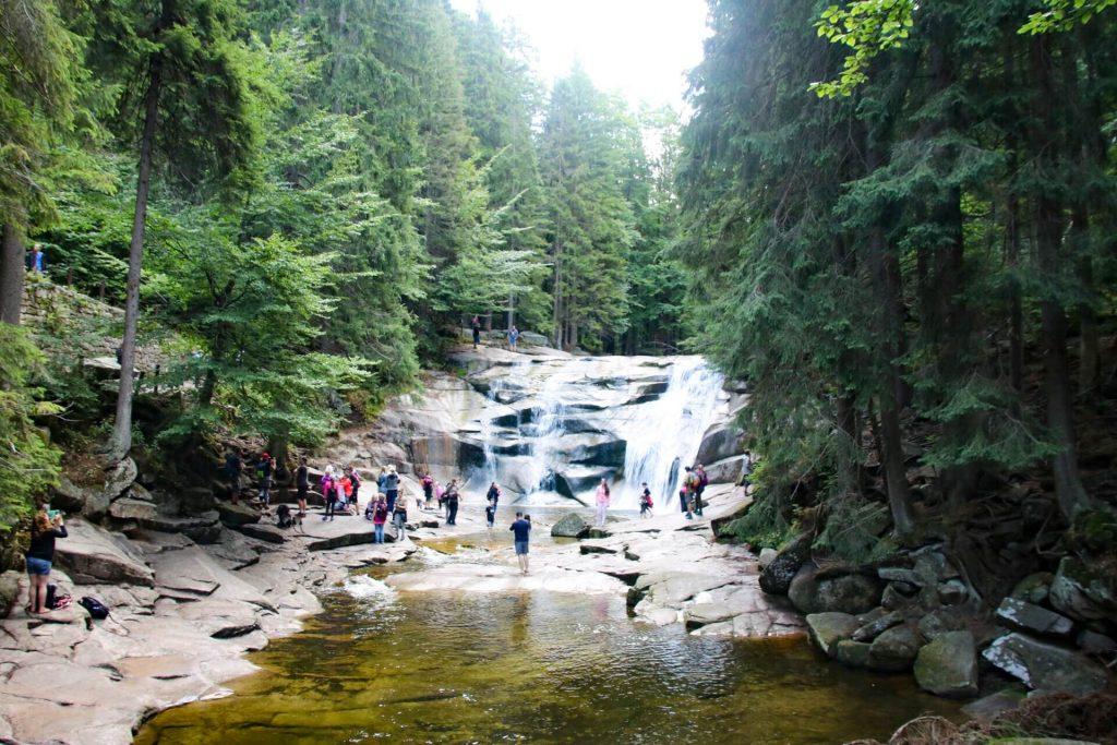 Mumlava Falls Czechia