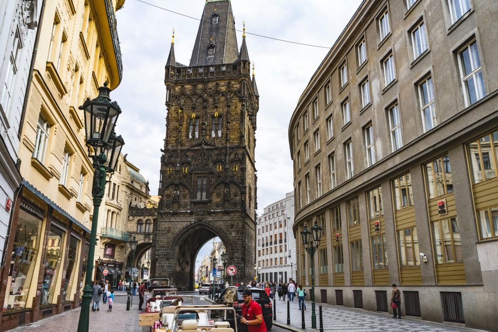 Powder Tower Prague 4 day itinerary