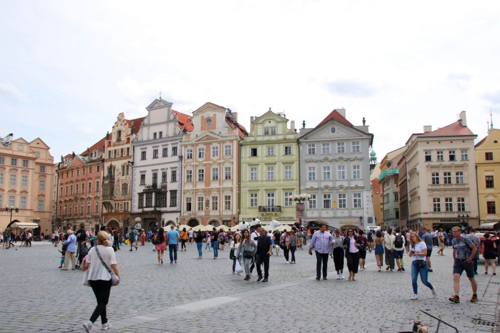 4 day Prague itinerary Old Town Square