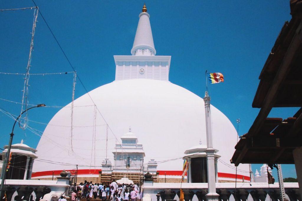 Ruwanwelisaya Sri Lanka itinerary