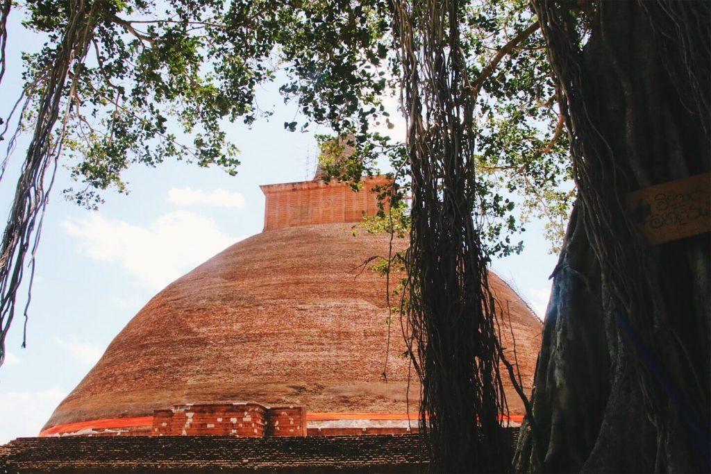 Jethawanaramaya Stupa sri lankra