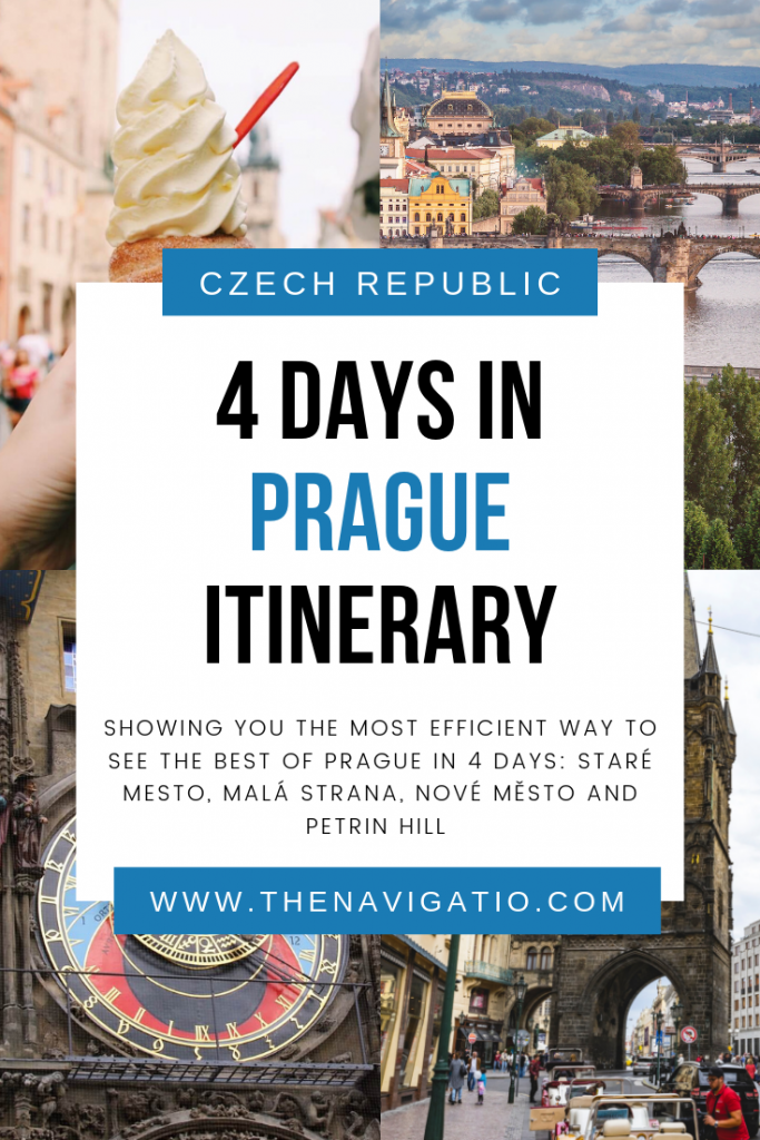 4 day Prague itinerary