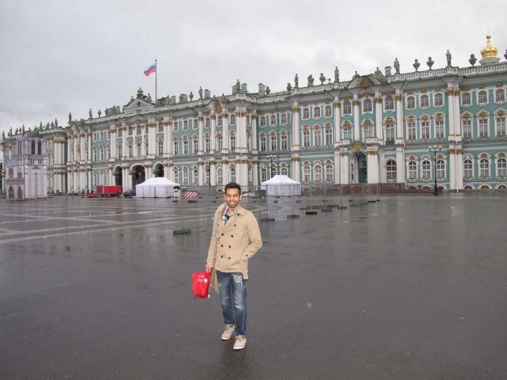 Saint Petersburg Winter Destination
