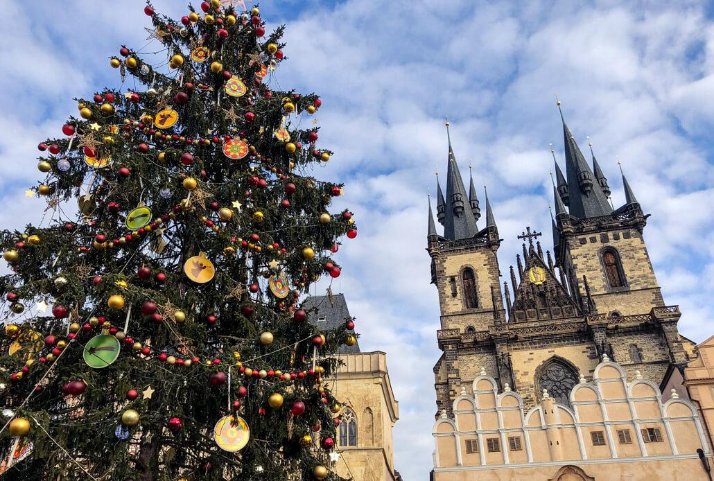 Christmas markt in Prague