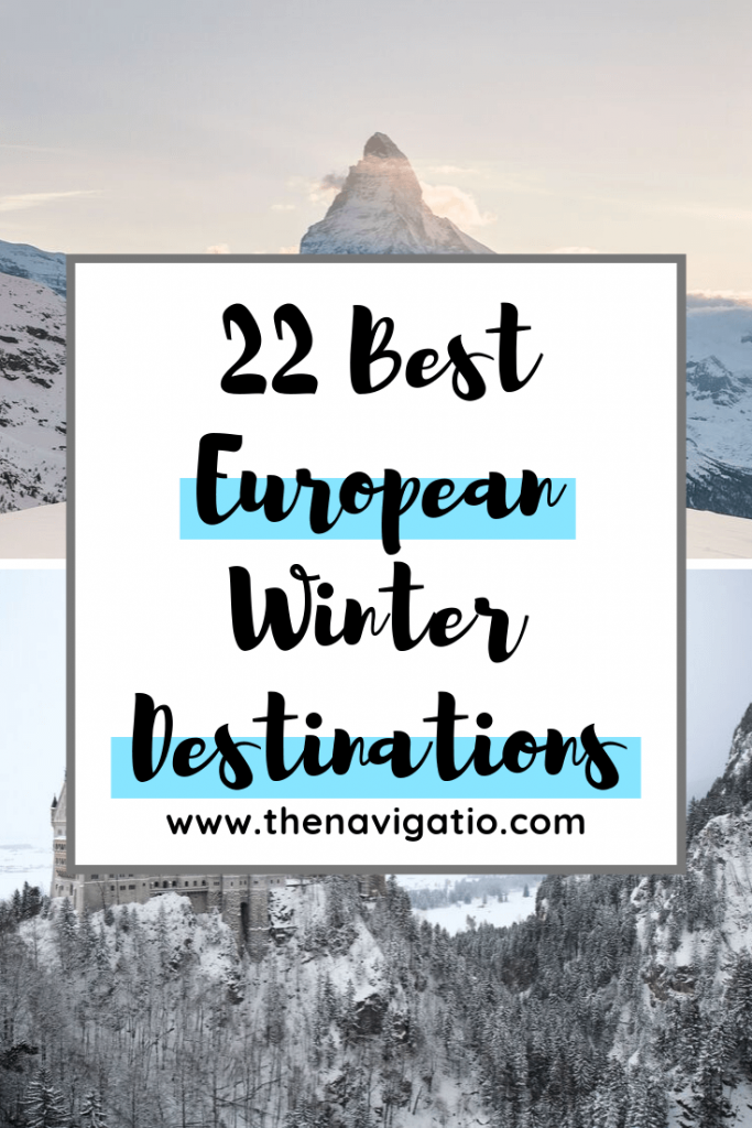 Best european destinations in winter