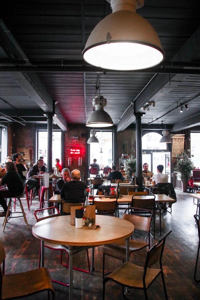 Ezra and Gil northern quarter coffee shop