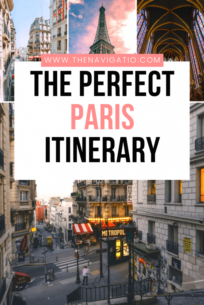 4 day Paris itinerary