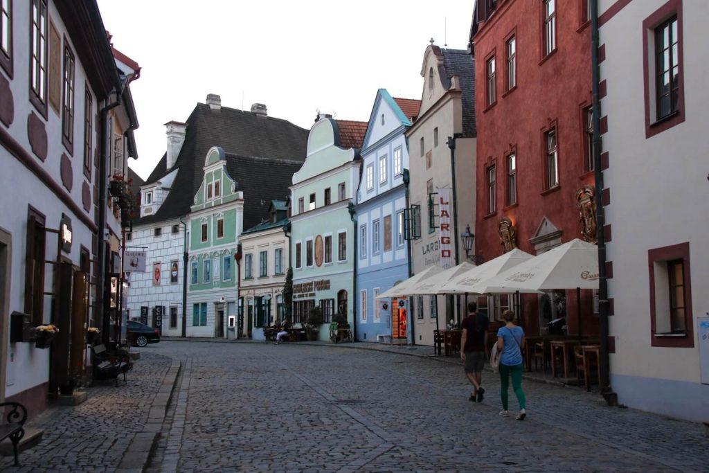 Old historic town in Cesky Krumlov