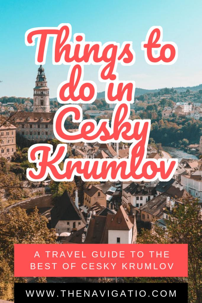 best things to do in cesky krumlov