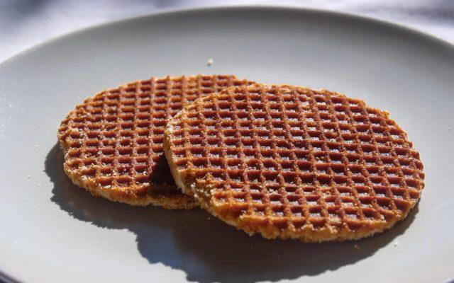 Stroopwafel Dutch snack