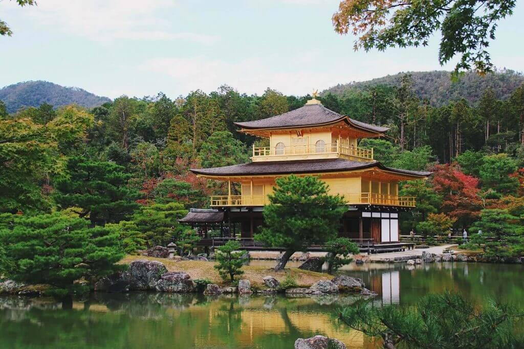 kinkaku ji golden pavillion kyoto