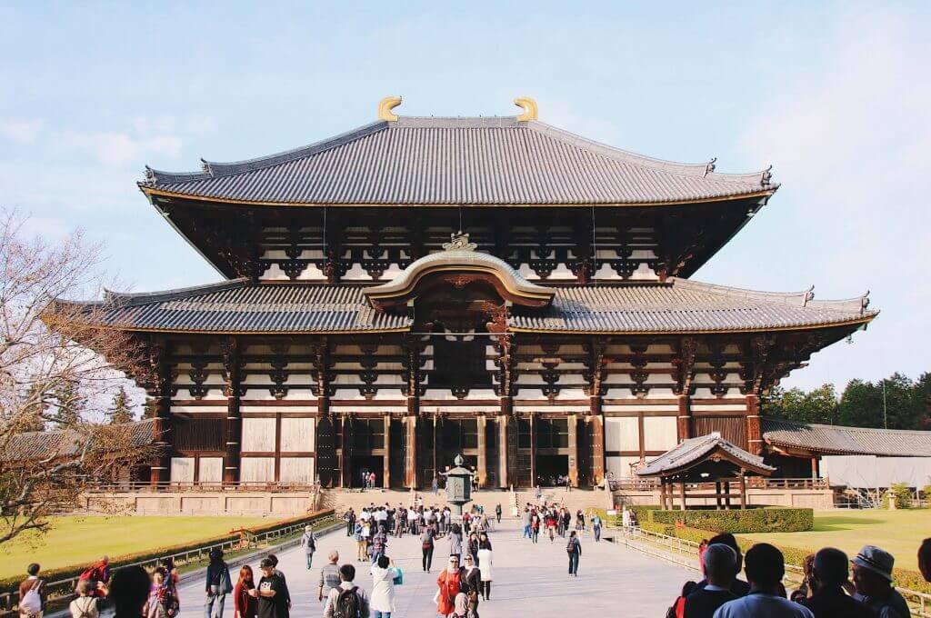 Todaiji Nara itinerary