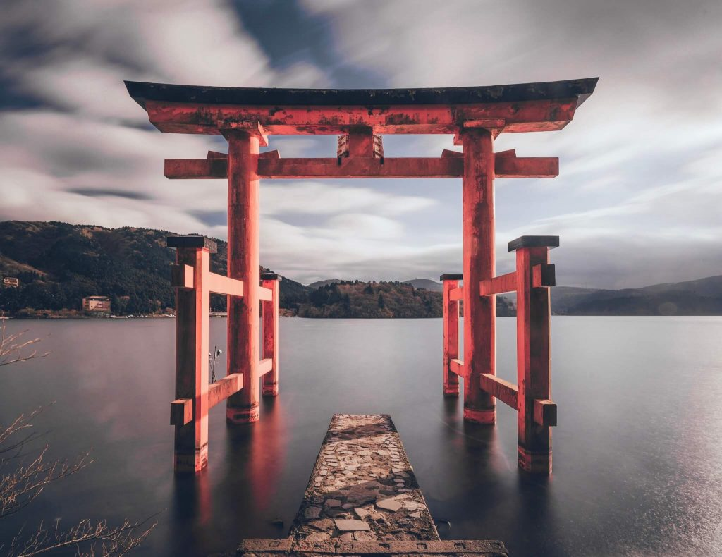 Hakone shrine Japan