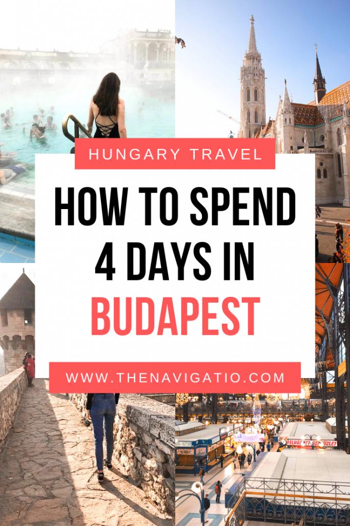 4 day budapest itinerary